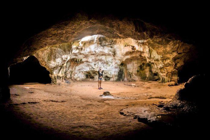 Arawak grot Aruba bezienswaardigheden
