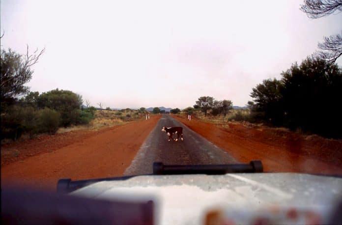 razernij van leegte Australie outback