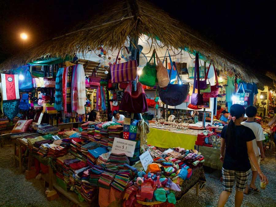 Siem Reap, toeristischCambodja