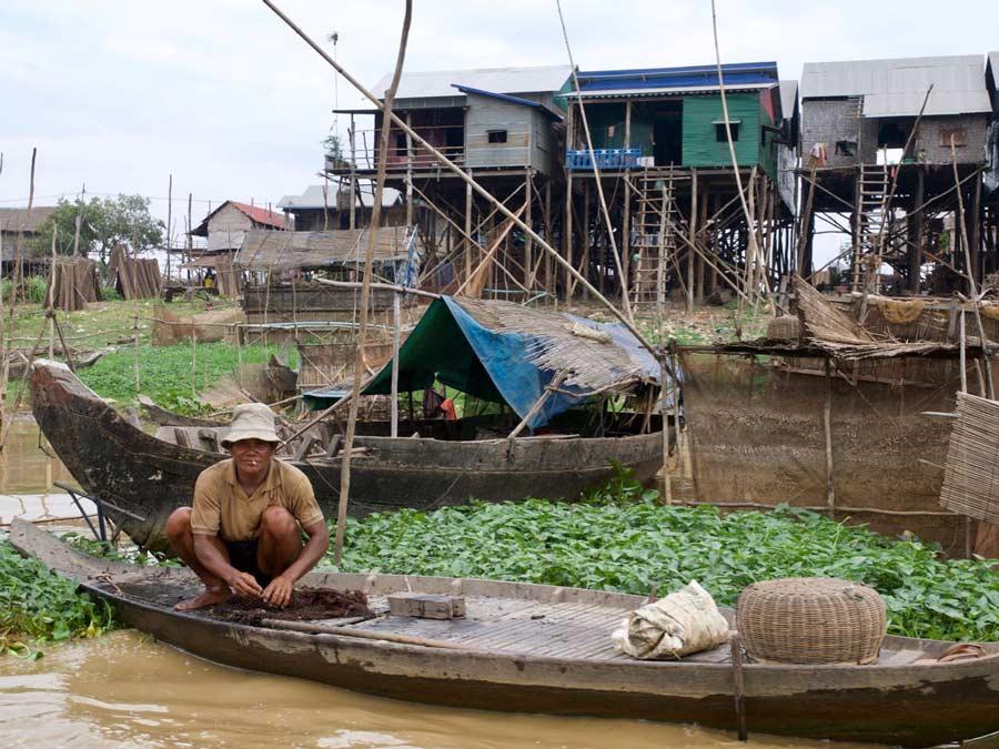 Cambodja Tonle Sap meer