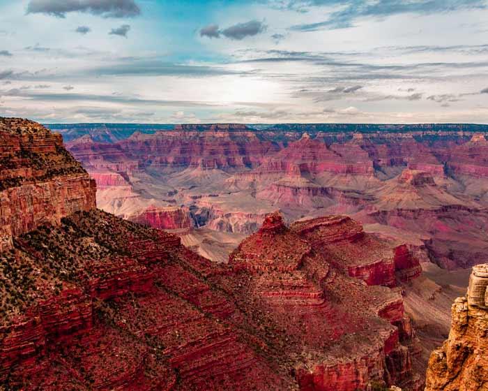 Grand Canyon tijdens camperreis Amerika