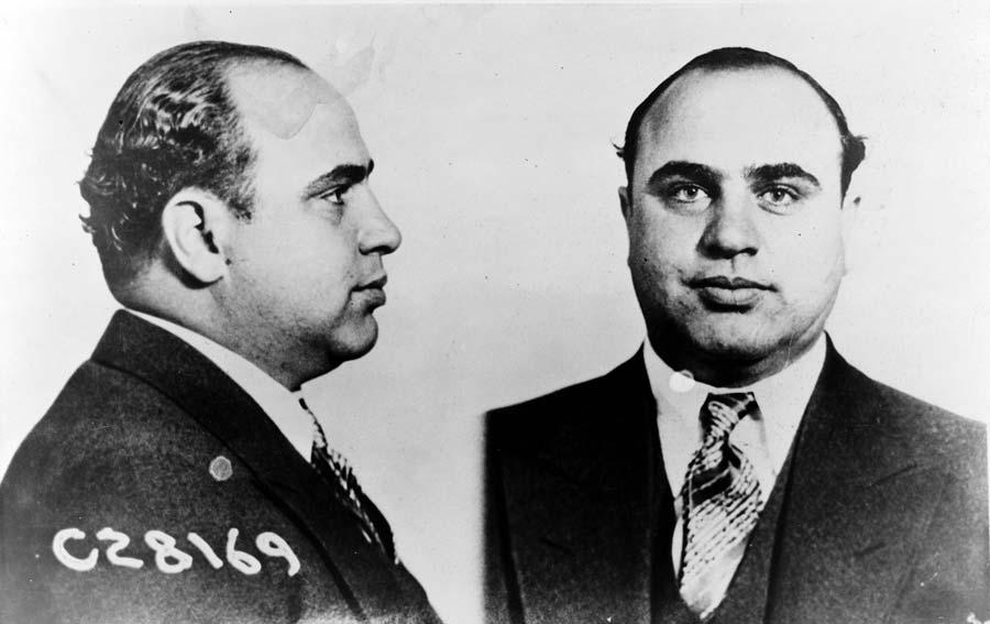 Al Capone gangsterbaas