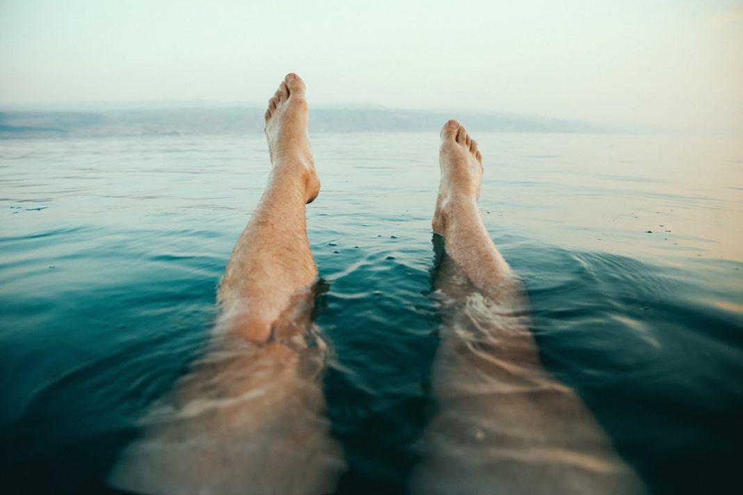 Hoe zwem je in dode zee