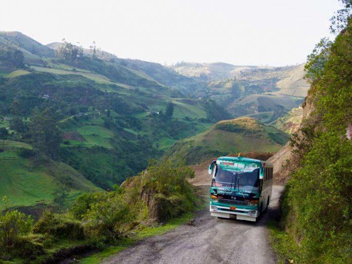Quilotoa Loop een van de Ecuador bezienswaardighede