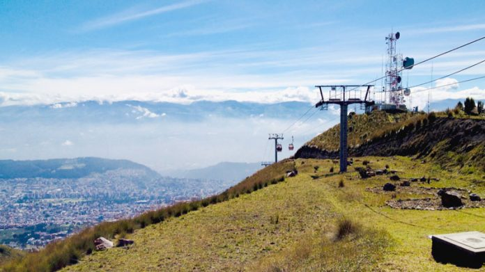 Quito Teleferiqo Ecuador bezienswaardigheden
