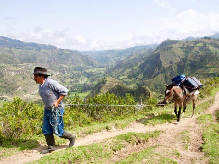 Trekttocht van Isinlivi naar Chugchilan Ecuador bezienswaardigheden