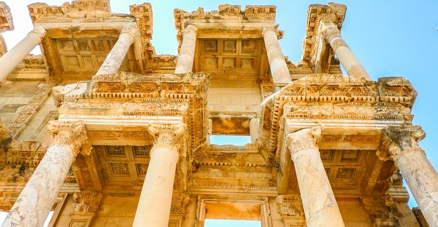 De antieke stad Efeze heeft veel schatten