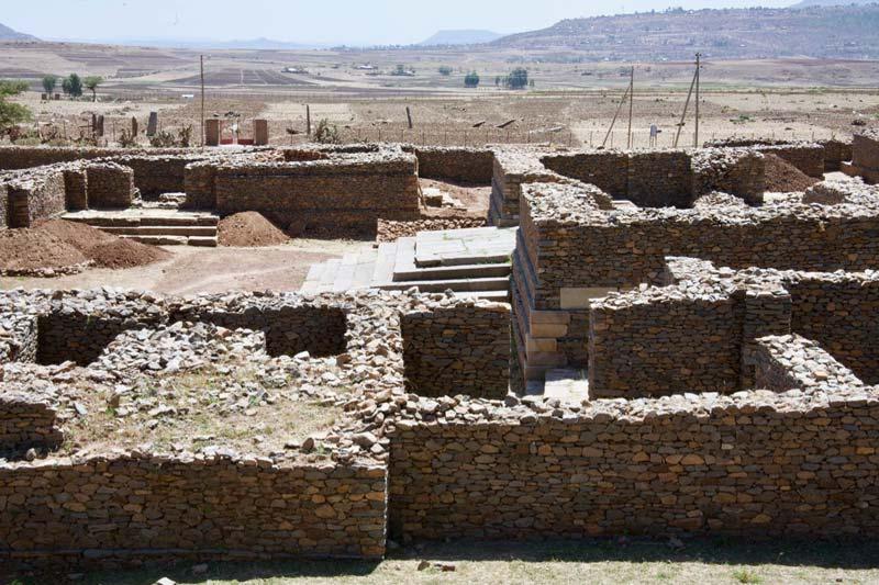 Ethiopie Reizen Paleis van Seba