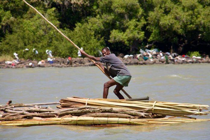 Ethiopie reizen Bahir Dar rivier blauwe nijl