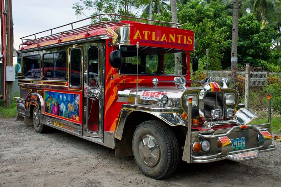 Jeepney Filipijnen eilanden
