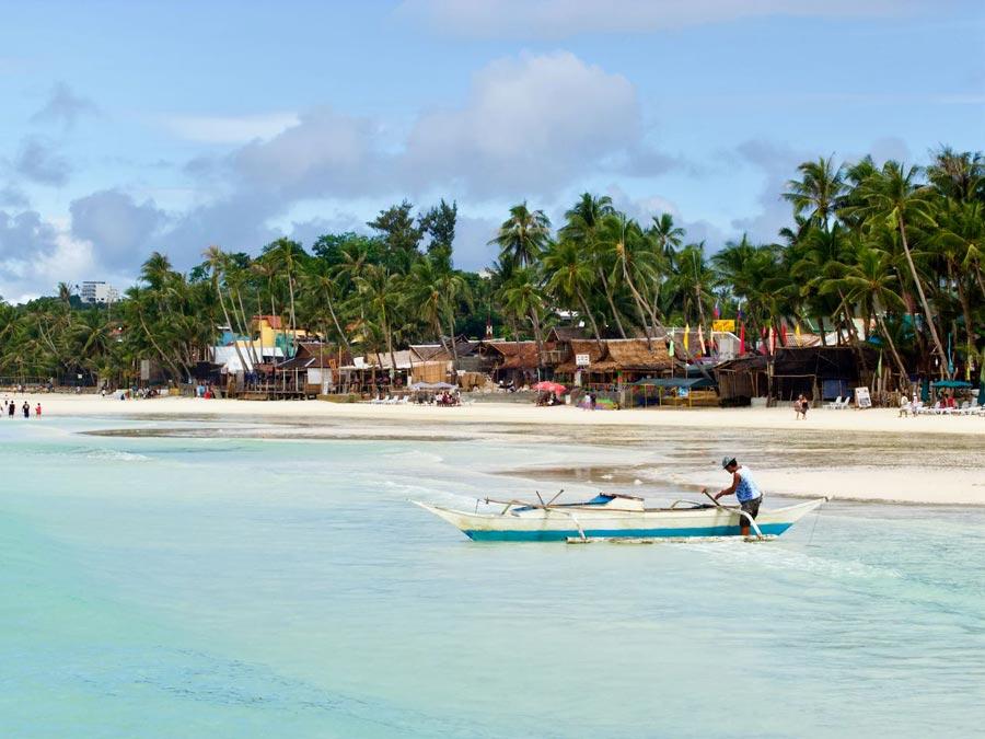 Boracay strand Filipijnen eilanden