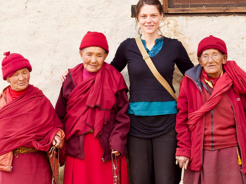 Himalaya trekking bevolking nepal