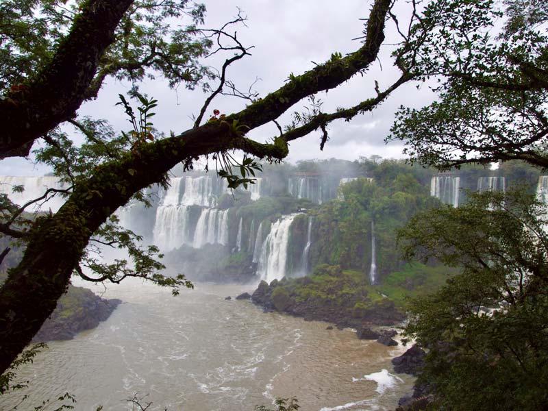 Iguazu FallsRuta 40 Argentinie wereldwonder