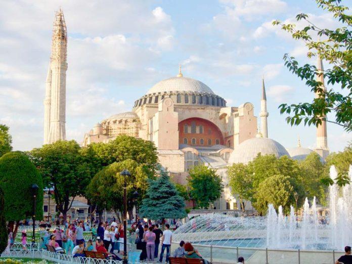 Pronkstuk Aya Sophia Istanbul reizen