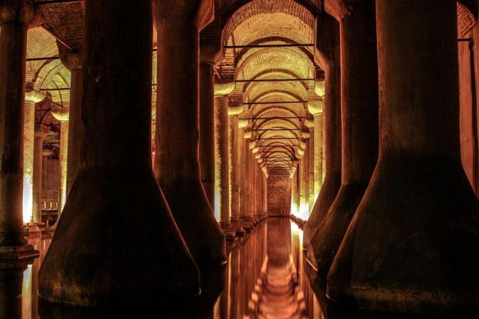 waterreservoir Istanbul reizen Basilica Cisterne