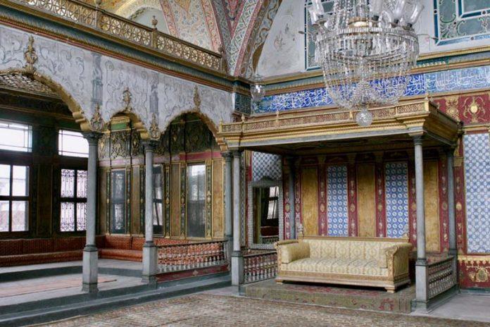 Top kapi paleis Istanbul reizen