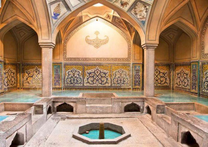 Hamman bezoek Istanbul reizen