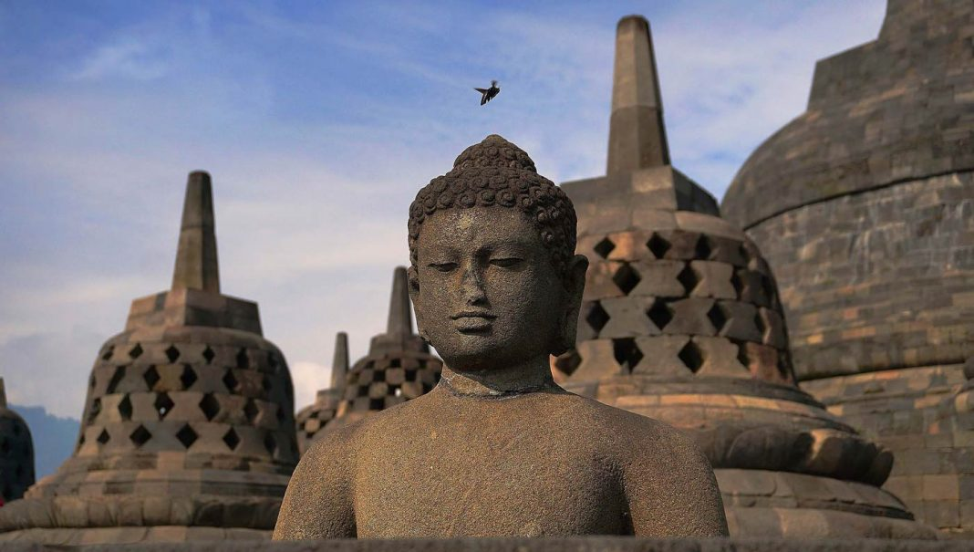 Java Indonesie Borobudur zien