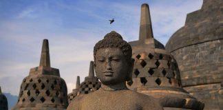 Java Indonesie Borobudur zien