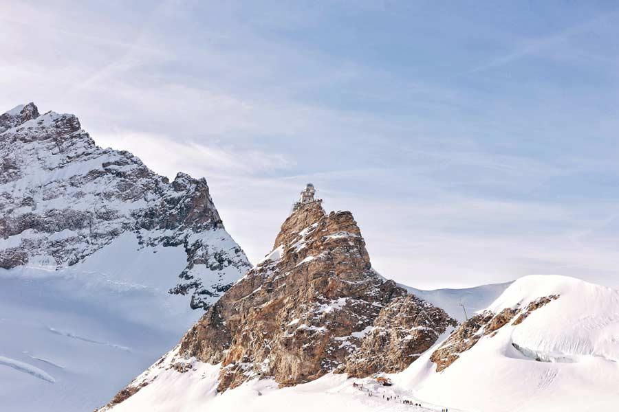 Jungfraubahn eindpunt Jungfraujoch