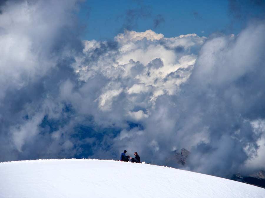 Jungfraubahn uitzicht drie bergen