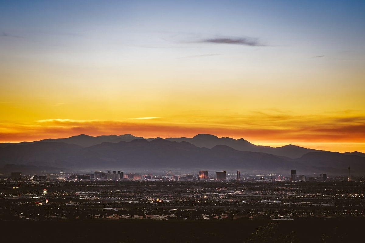 Las Vegas reis Sin City