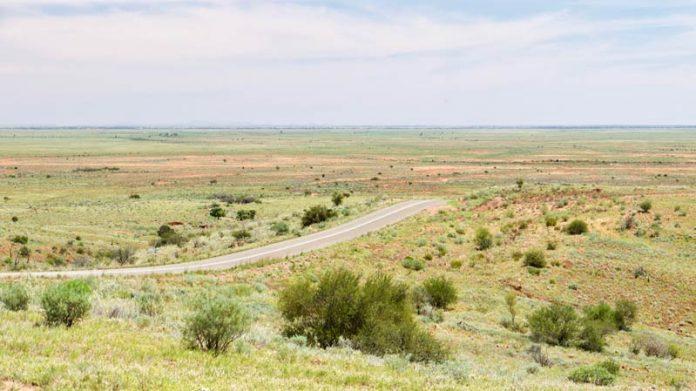 Mundi Mundi plains Australië