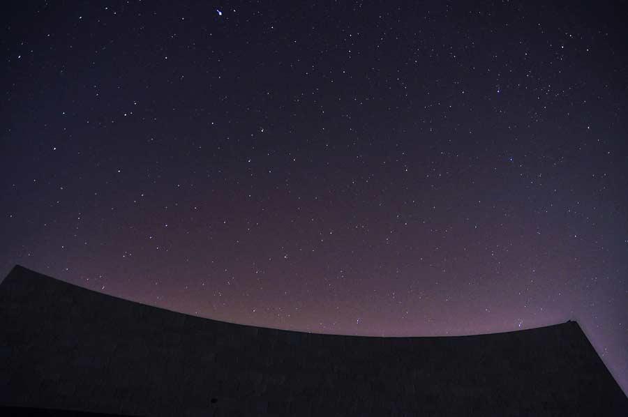 sterrenhemel Negev woestijn