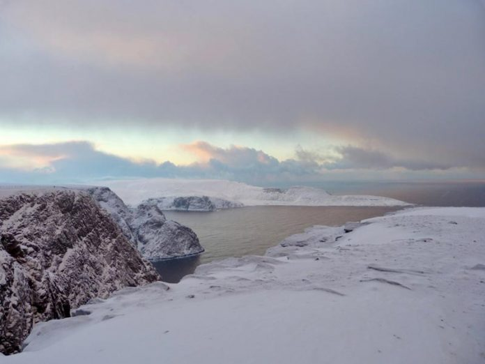 Noorderlicht Noorwegen noordkaap Nordkapp