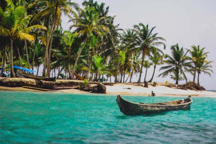 Chillen op Korkidyp eiland vakantiePanama