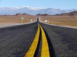 Ruta 40 Argentinie hoogte rijden