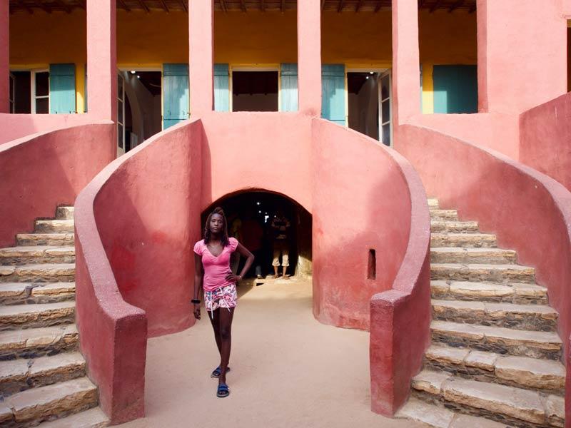 Maison des Esclaves, het Slavenhuis senegal vakantie