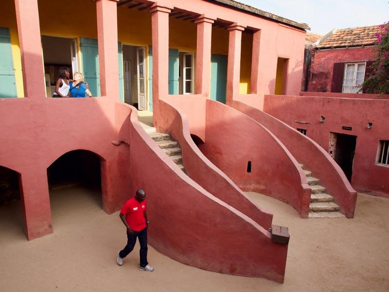 Slaveneiland Gorée Dakar Senegal vakantie