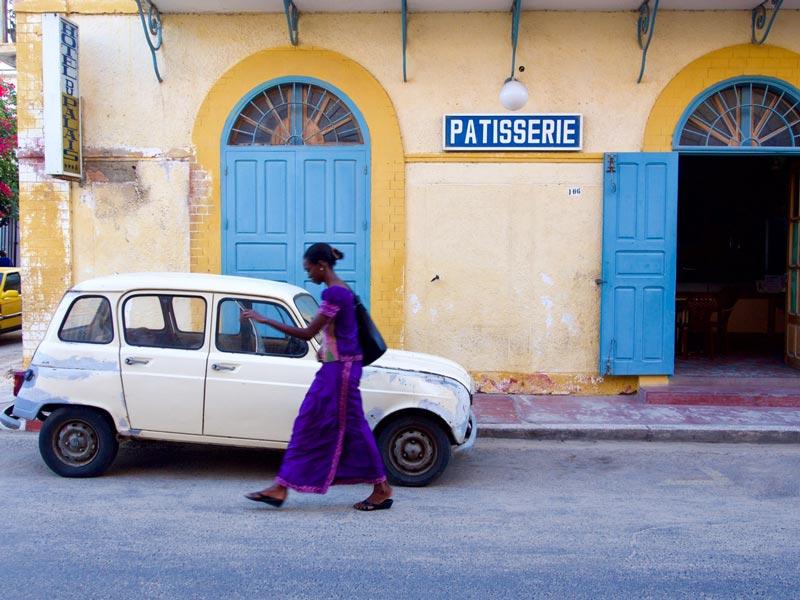 patisserie Senegal vakantie Saint Louis