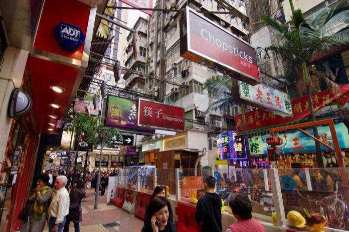 Shoppen tijdens stopover Hong Kong