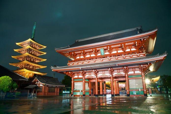 tempel bezoek Stedentrip Tokyo