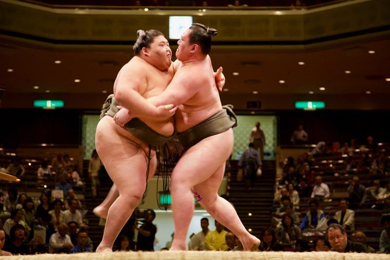 worstelpartij Stedentrip Tokyo