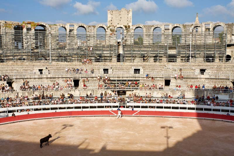 Languedoc-Roussillon diervriendelijk stierengevecht