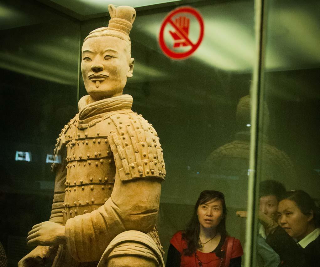 Terracottaleger China boogschutter
