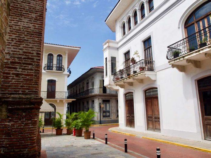 Vakantie Panama de oude binnenstad