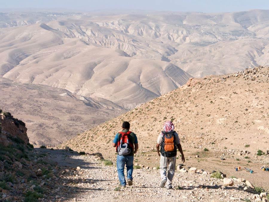 Wadi Rum tocht woestijn