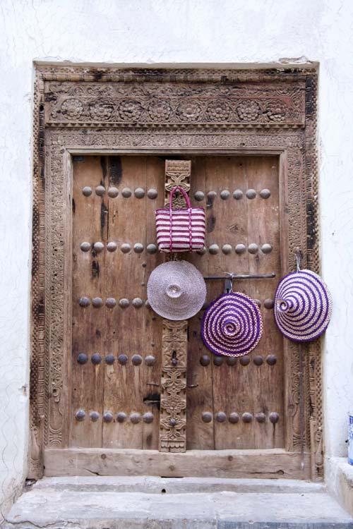 Zanzibar Stone Town bewerkte deur