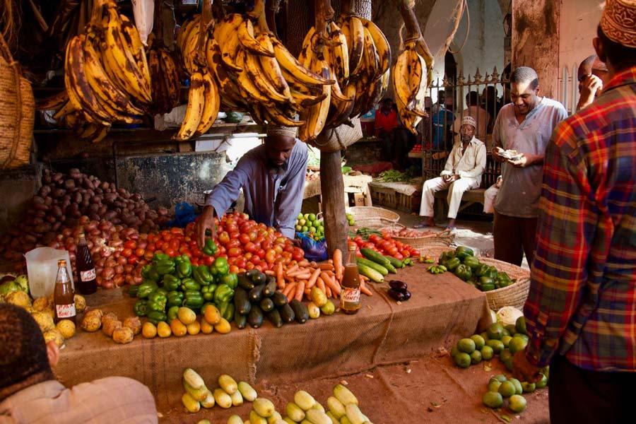 Zanzibar groentemarkt