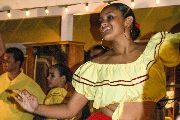 Dansen op Aruba ABC eilanden