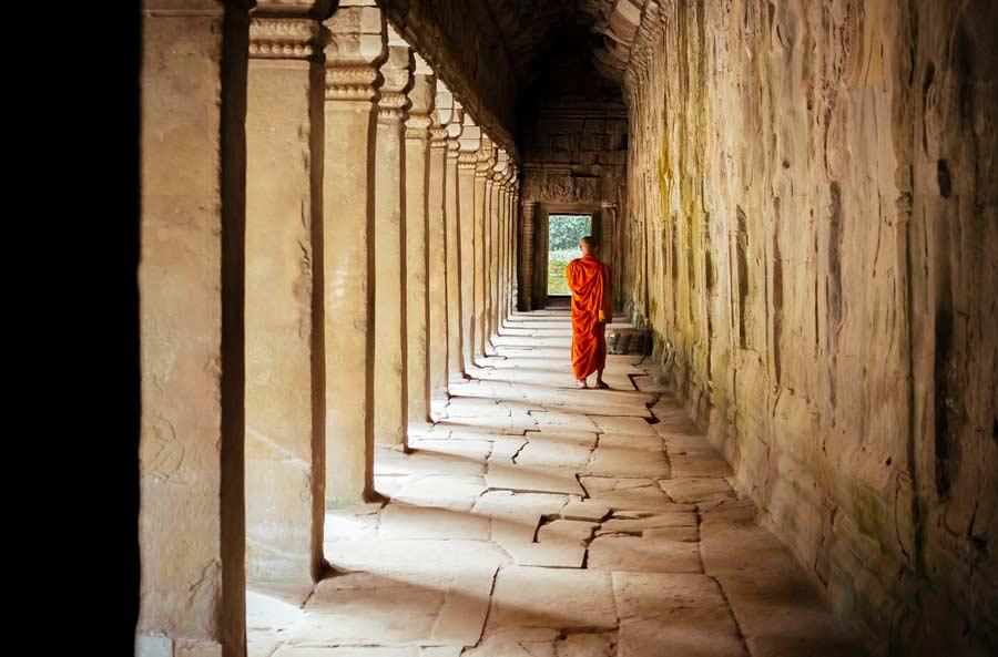 Angkor tempel inCambodja