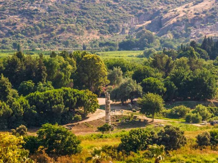 Tempel van Artemis in Efeze Turkije