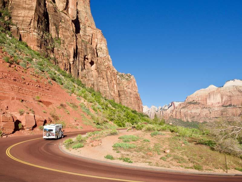 Zelf vanuit Las Vegas reizen naar de nationale parken van Utah