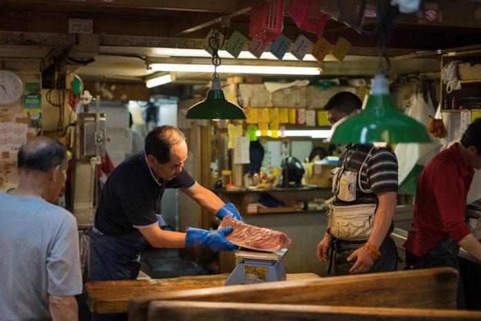 Tsukiji-vismarktStedentrip Tokyo