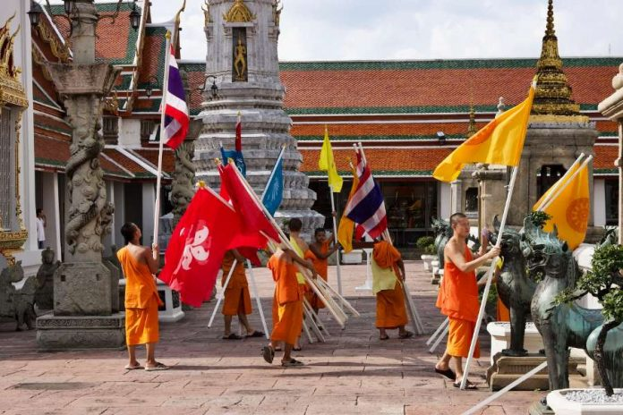 Bangkok tips tempels