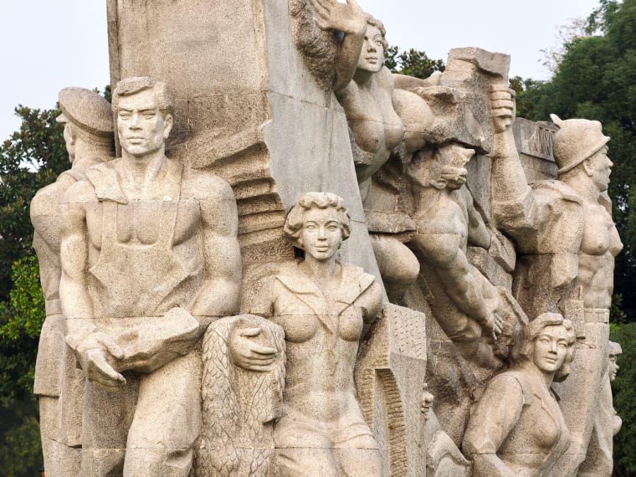 Shanghai Longhua martelarenpark